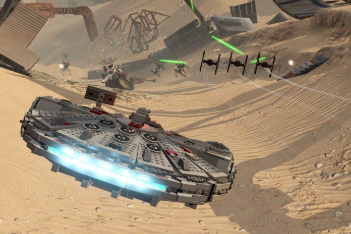 Jeu Lego Star wars sur PS4